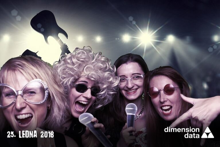 Dimension data - Rock party